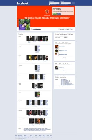Image of Most Popular Facebook Profile