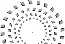 Magic Zoomster Optical illusion