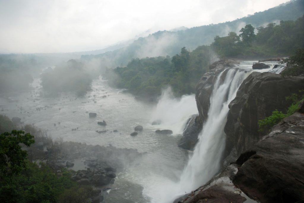 Athirapally Falls Tourist Location In Kerala