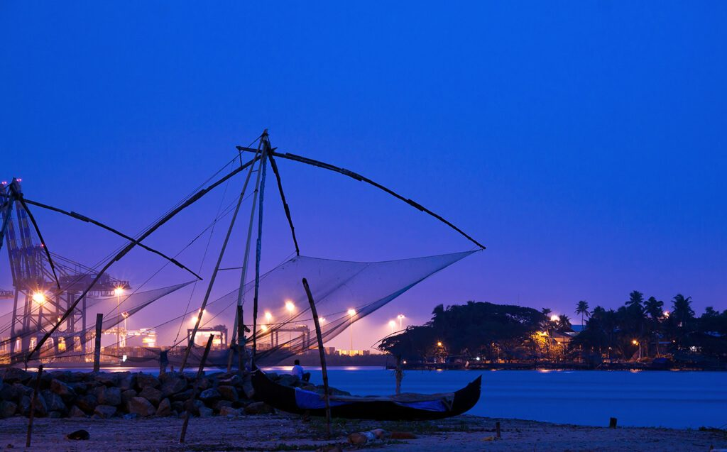 Chinese Fishing net in Fort Kochi - Kerala