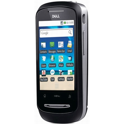 Dell XCD28 Android 2.1 OS smartphone India