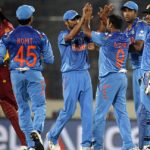 'Men In Blue ' Win Over West Indies