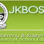 10th class Annual Private Exam 2013 Kashmir division results published in JKBOSE