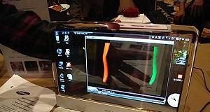 samsung transparent laptops
