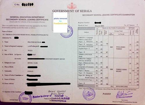 sslc certificate