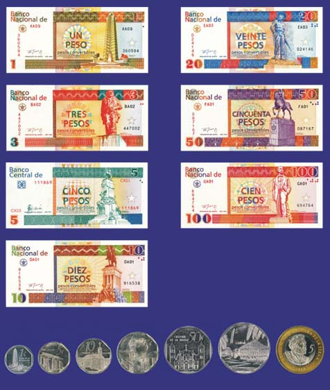 Official Currency Of Cuba Cuban Peso Centavos