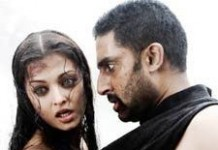 Aishwarya and Abhishek in Raavan