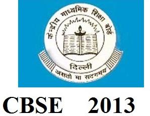 cbse 10th exam 2013