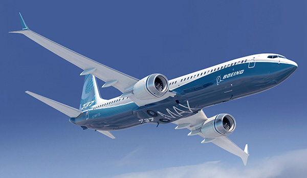 Boeing 737 MAX jets