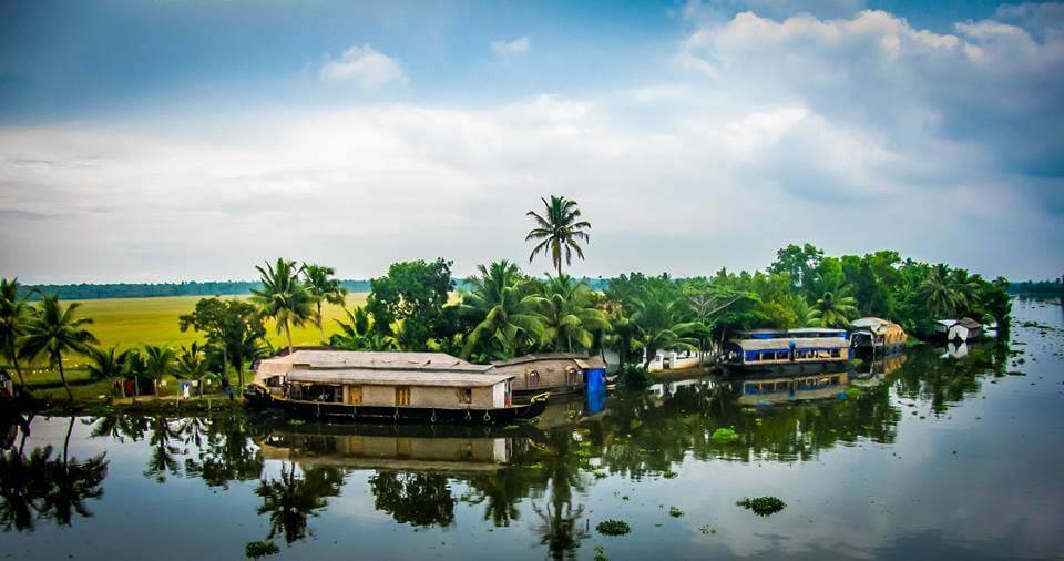 Alappuzha Backwaters - Tourist Destination in Kerala