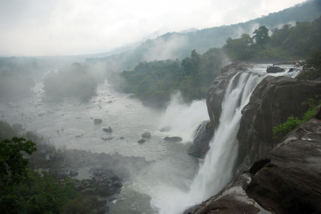 Athirapally Falls Tourist Location In Kerala