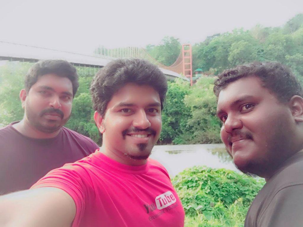 Selfie in Athirapally Prakriti Gramam